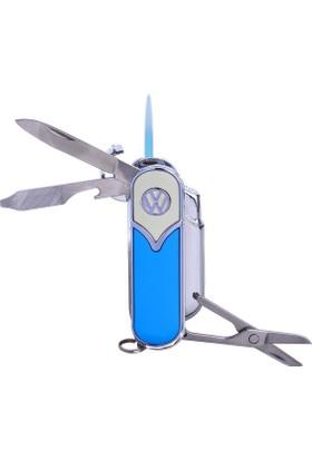 Bek Tobacco Vw T5 Logolu Puro Çakmağı-Çakı Mavi Bej
