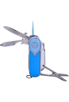 Bek Tobacco Vw T5 Logolu Puro Çakmağı-Çakı Mavi Mavi