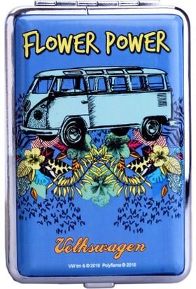 Bek Tobacco Volkswagen Flower Power Mavi Sigara Tabakası 12Li