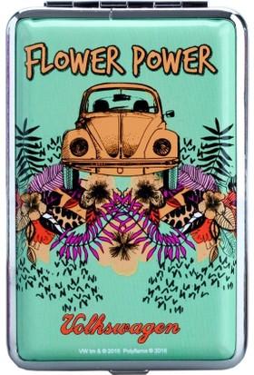 Bek Tobacco Volkswagen Flower Power Yeşil Sigara Tabakası 12Li