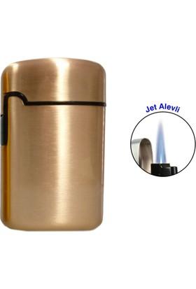 Easy Torch Tek Alev Metal Puro Çakmağı Rose 0202081