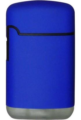Easy Torch Tek Alev Puro Çakmağı Rubber Mavi 0201906