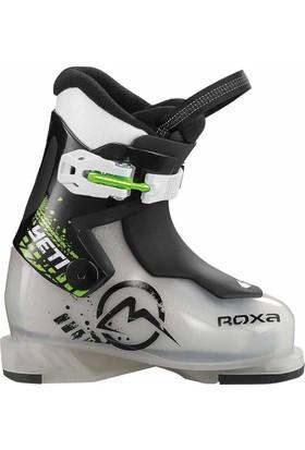 Roxa Yeti 1 Çocuk Kayak Ayakkabı Siyah Yeşil