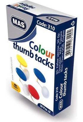 Mas 310 Renkli Raptiye Karışık