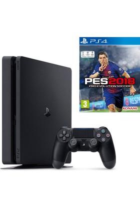 Sony Ps4 Slim 1Tb Oyun Konsolu + Ps4 Pes 2018