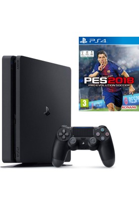 Sony Ps4 Slim 500Gb Oyun Konsolu + Pes 2018