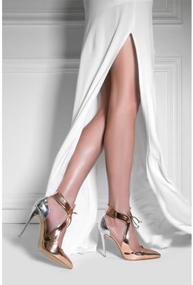 İlvi Krispina 1301 Sandalet Rose Ayna - Lame Ayna