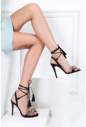 İlvi Amore 37572-1 Sandalet Siyah