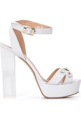 İlvi Felicidad 1000 Sandalet Beyaz Sedef