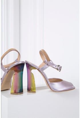 İlvi Miranda 1473 Sandalet Lila Sedef