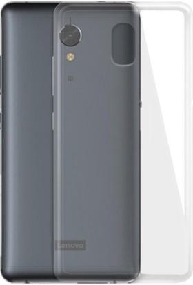Microcase Lenovo P2 Ultra İnce 0.2mm Soft Silikon Kılıf + Tempered Cam