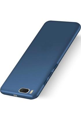 Microcase Xiaomi Mi6 Premium Matte Silikon Kılıf+Nano Glass Koruma