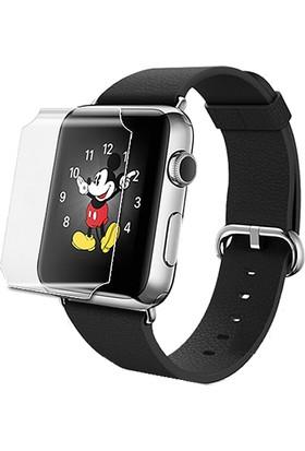 Microcase Apple Watch 42 mm Nano Glass Esnek Cam Ekran Koruma Filmi
