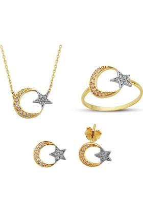 Sembolgold Altın Ayyıldız 3'Lü Takım