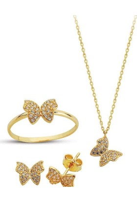 Sembolgold Altın Kelebek 3'Lü Takım