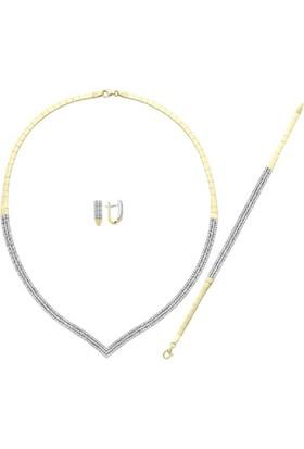 Sembolgold Altın Su Yolu 3 Sıra Set Takımları T677