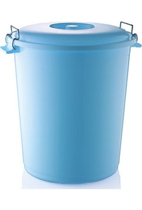 Hobby Life Plastik 4 No Kilitli Çöp Kovası(70T)