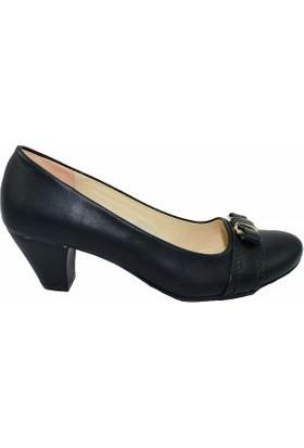 Topuz 502 Bayan Topuklu Ayakkabı