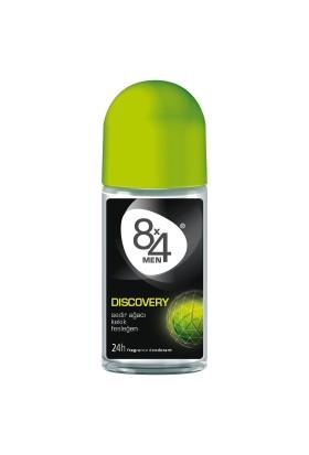 8X4 Roll-On Discovery 50Ml Erkek