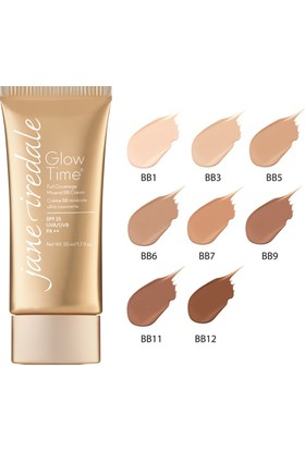Jane Iredale Glow Time Full Coverage Mineral Bb6-E Cream Spf 25