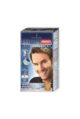Men Perfect Erkek Saç Boyası Açik Kahve 50 80Ml