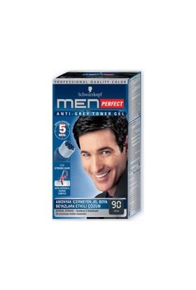 Men Perfect Erkek Saç Boyası Siyah 90 80Ml