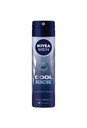 Nivea Cool Kick Deodorant Sprey 150Ml Erkek