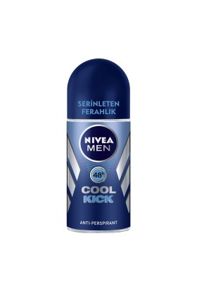 Nivea Roll-On Cool Kick 50Ml Erkek