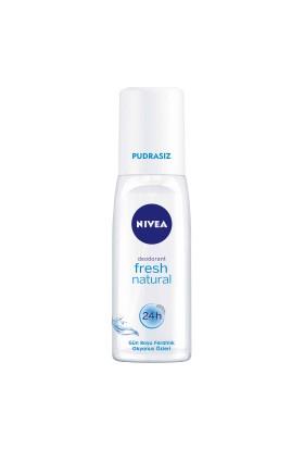 Nivea Fresh Natural Pompalı Sprey 75Ml Kadın