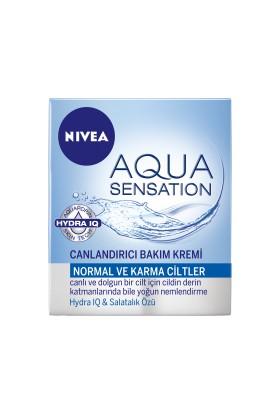 Nivea Aqua Sensation Özel Bakım Kremi 50Ml