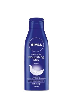 Nivea Body Milk Vücut Nemlendiricisi 250 Ml