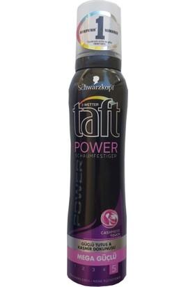 Taft Cashmere Touch Power 150 Ml Mega Güçlü Saç Köpüğü