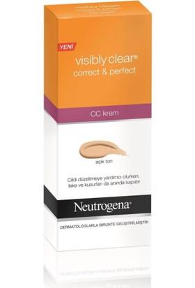 Neutrogena Visıbly Clear Correct&Perf.Cc Krem Açık Ton 5
