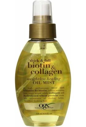 Organix Biotin Collagen Bakım Sprey Yağ 118 Ml