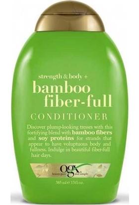 OGX Bamboo Fiber Full Kalınlaştırıcı Bakım Kremi 385Ml