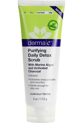Derma E Purifying Daily Detox Scrub 113Ml