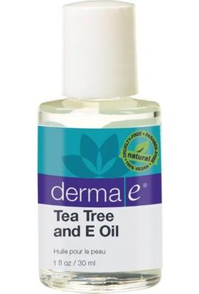 Derma E Tea Tree And E Oil 30 Ml - Çay Ağacı Ve E Vitaminli Yağ