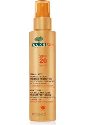 Nuxe Sun Güneş Koruyucu Yüz Ve Vücut Sütü Sprey Spf20