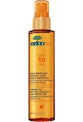 Nuxe Sun Bronzlaştırıcı Yüz Ve Vücut Yağı (Spf 10)