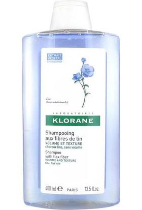 Klorane Keten Lifi İçeren İnce Telli Saçlar İçin Hacim Veren Bakım Şampuanı 400 Ml