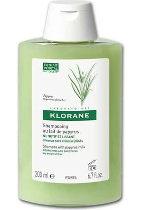 Klorane Papirus Sütü İçeren Kuru İnce Şekil Almayan Saçlar İçin Bakım Şampuanı 200