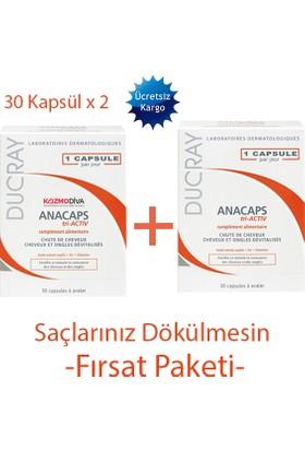 Ducray Anacaps 30 Kapsül X 2 Kutu