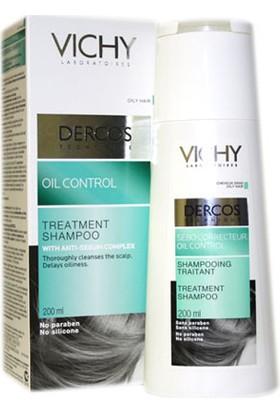 Vichy Dercos Oil Control - Yağlanma Karşıtı Şampuan 200Ml