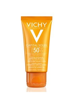 Vichy Ideal Soleil Çok Yüksek Korumalı Normal Ve Kuru Ciltler İçin Yüz Kremi Spf 50+ 50 Ml