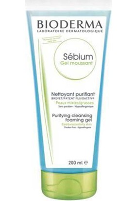 Bioderma Sebium Foaming Jel 200 Ml. (Tüp)
