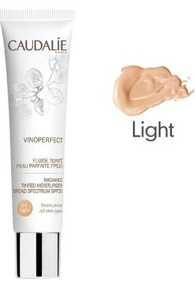 Caudalie Vinoperfect Radiance Tinted Moisturizer Spf20 40Ml Medium