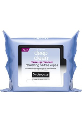 Neutrogena Deep Clean Makyaj Temizleme Mendili