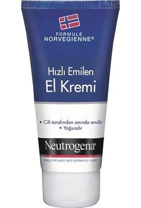 Norveç Formülü Hızlı Emilen El Kremi