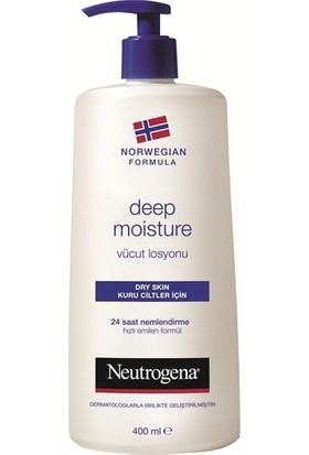 Neutrogena Deep Moisture Parfümlü Vücut Losyonu 400 Ml
