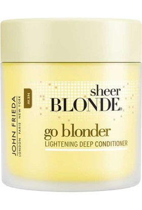 John Frieda Sheer Blonde Go Blonder Lightening Deep Conditioner 150 Ml - Bakım Maskesi